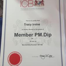 ICB Member Certificate