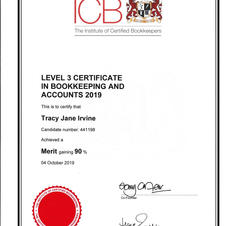 Level 3 Bookkeeping