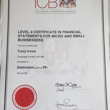 Level 4 Diploma in Financial Statements for Micro & Small Businesses