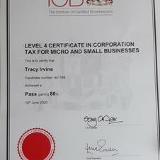 Level 4 Diploma in Corporation Tax for small & Micro Busiesses