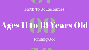 Week of July 8, 2018: Finding God (Ages 11-18)