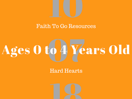 Week of October 7, 2018: Hard Hearts (Ages 0-4)