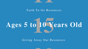 Week of November 15, 2020: Giving Away Our Resources (Ages 5-10)