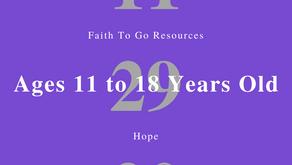 Week of November 29, 2020: Hope (Ages 11-18)