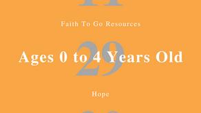 Week of November 29, 2020: Hope (Ages 0-4)