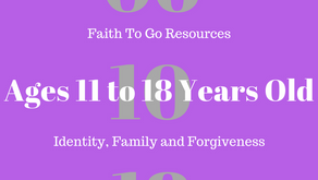 Week of June 10, 2018: Identity, Family and Forgiveness (Ages 11-18)