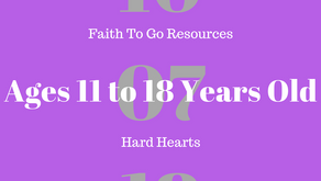 Week of October 7, 2018: Hard Hearts (Ages 11-18)