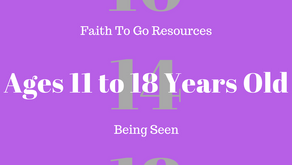 Week of October 14, 2018: Being Seen (Ages 11-18)