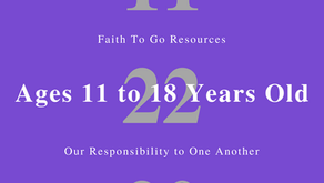 Week of November 22, 2020: Our Responsibility to One Another (Ages 11-18)