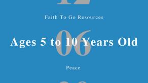 Week of December 6, 2020: Peace (Ages 5-10)