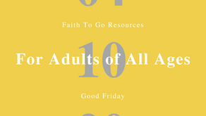 April 10, 2020: Good Friday in English and Spanish (Adult of All Ages