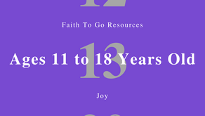 Week of December 13, 2020: Joy (Ages 11-18)