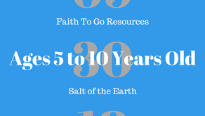 Week of September 30, 2018: Salt of the Earth (Ages 5-10)
