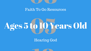 Week of August 5, 2018:  Hearing God (Ages 5-10)