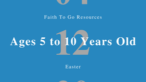Week of April 12, 2020: Easter (Ages 5-10)