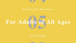 April 5, 2020: Palm Sunday in English and Spanish (Adults of All Ages)