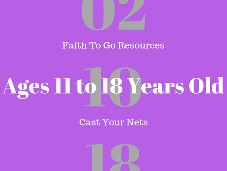Week of February 10, 2019: Cast Your Nets (Ages 11-18)