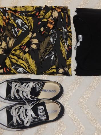 shirt - primark  pants - primark  converse