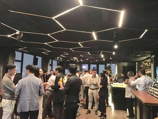 Networking Cocktail, A Joyous Night! Tiệc kết nối cộng đồng Designer