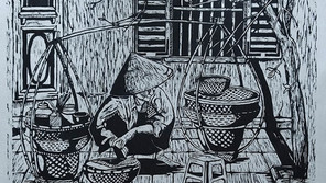 Engraving painting project: unforgettable artworks of Graphic Design students -Van Lang University