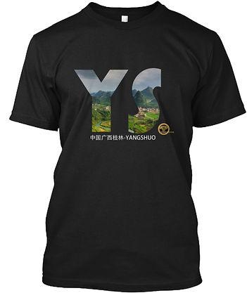 t-shirt yangshuo karst hills guilin china
