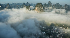 """Guilin photography prints: Amazing Karst mountains prints."""