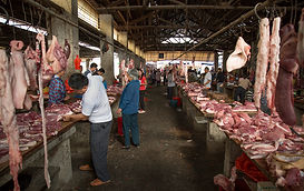 """Amazing Guilin photography tour: Baisha local market yangshuo china."""