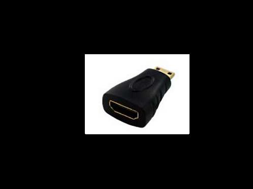 CONECTOR HDMI A-hembra -> MicroHDMI D-macho