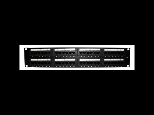 Panel de Parcheo UTP cat 648 puertos