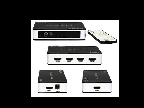 SWITCH HDMI INTELIGENTE 5X1 PREMIUM 4K X 2K
