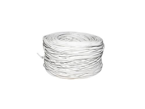 BOBINA ROLLO cable UTP CAT 5E Blanca