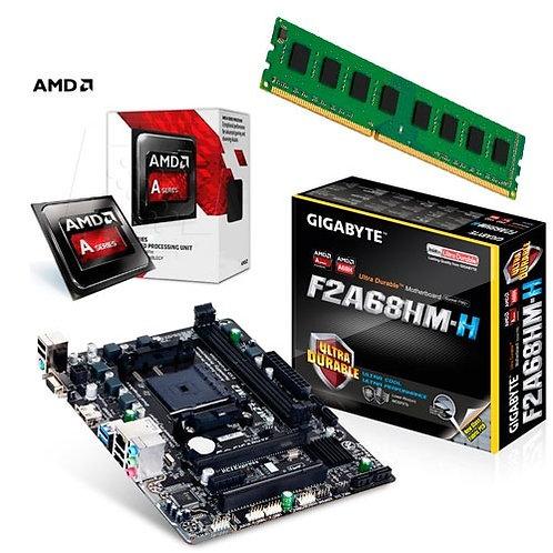 Amd A6 7480 R5 +mb + 8gb Ddr3 1333mhz