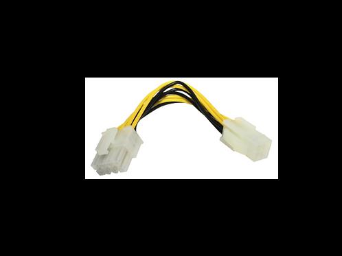CONECTOR 4 PIN A 4+4 PIN 12 V,