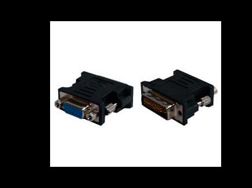 CONECTOR VGA- DVI  PASIVOSHembraMacho