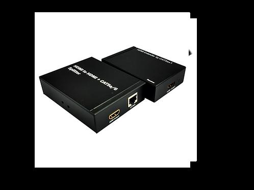 HDMI SPLITTER + EXTENDER 1X1 SOBRE 1 UTP, 50 MTS