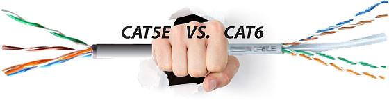 Respondiendo una de las preguntas, aquí les dejo una pequeña explicación de las diferencias del cable CAT 5e y CAT 6.