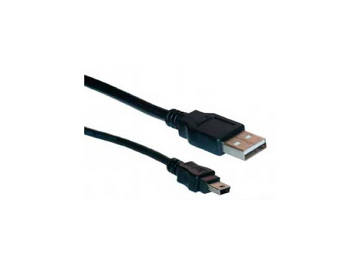 CABLE USB 2.0 AM- mini 5 pin 0.60 metros