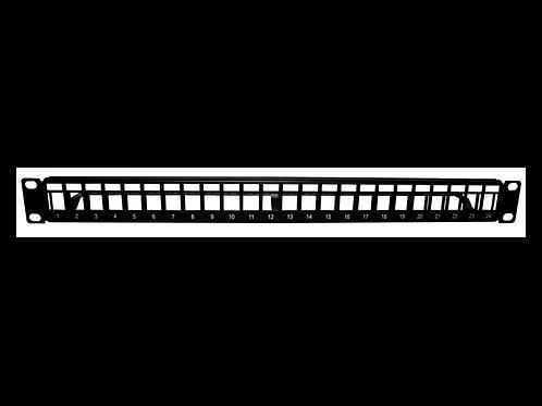 Panel de Parcheo vacío para keystone de metal24 puertos