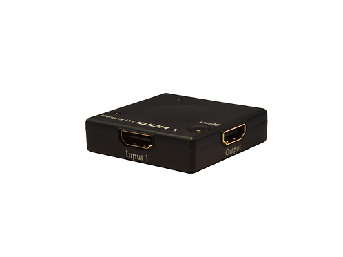 SWITCH HDMI 3X1 INTELIGENTE ULTRA SLIM	ADAP AC
