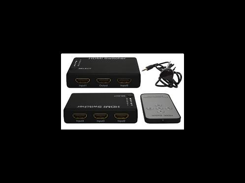SWITCH HDMI 5X1 CON CONTROL REMOTO