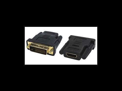 CONECTOR DVI - HDMI MachoHembra