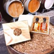 Holzkiste mit STBG Tiroler Whisky 2x0,2 lt. 3 yo & 10 yo