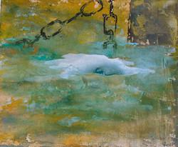 Cadenas en el agua