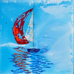 Corazón aventurero, a bordo de un velero.....
