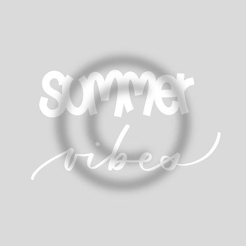 """Schriftzug """"summer vibes"""""""