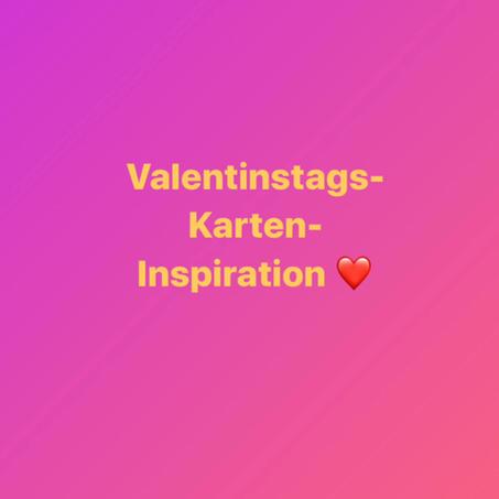 Valentinstag-Karten-Idee