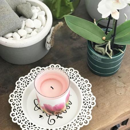 Ein einzigartiger Kerzen-Unterteller!