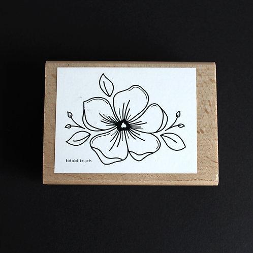 "Stempel ""Blume"" 10x7 cm"