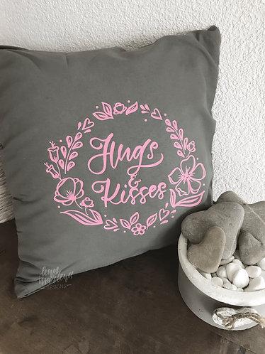 Kissenbezug Hugs & Kisses