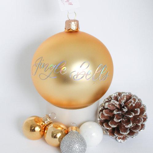"""Weihnachtskugel """"Jingle bells"""""""